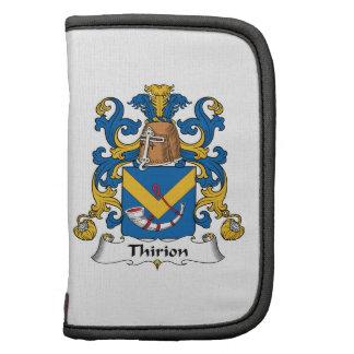 Escudo de la familia de Thirion Planificadores