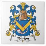 Escudo de la familia de Thirion Teja