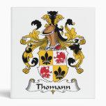 Escudo de la familia de Thomann