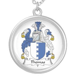 Escudo de la familia de Thomas Colgante Redondo