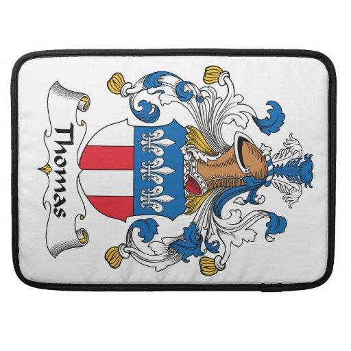 Escudo de la familia de Thomas Funda Para Macbook Pro