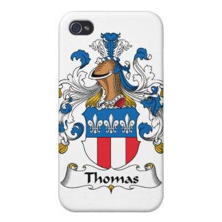 Escudo de la familia de Thomas iPhone 4 Carcasa