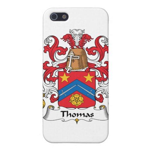 Escudo de la familia de Thomas iPhone 5 Carcasa