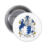 Escudo de la familia de Thomas Pin