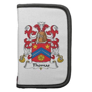 Escudo de la familia de Thomas Planificadores