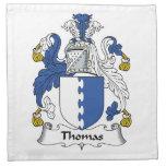 Escudo de la familia de Thomas Servilletas