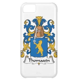 Escudo de la familia de Thomassin Funda Para iPhone 5C