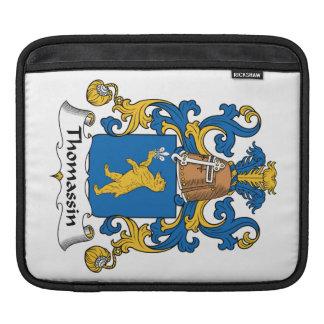 Escudo de la familia de Thomassin Fundas Para iPads
