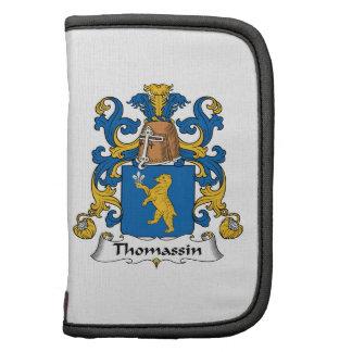 Escudo de la familia de Thomassin Planificadores