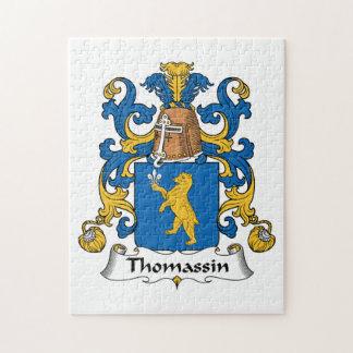 Escudo de la familia de Thomassin Rompecabeza
