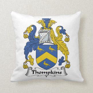 Escudo de la familia de Thompkins Almohadas