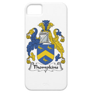 Escudo de la familia de Thompkins iPhone 5 Case-Mate Carcasa