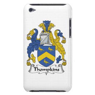 Escudo de la familia de Thompkins iPod Touch Case-Mate Carcasas