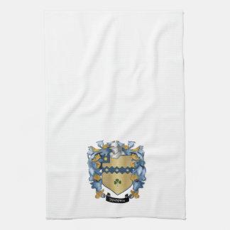 Escudo de la familia de Thompson (irlandés) Toalla