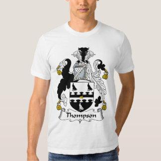 Escudo de la familia de Thompson Playeras