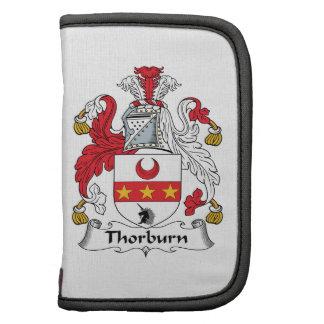 Escudo de la familia de Thorburn Planificadores