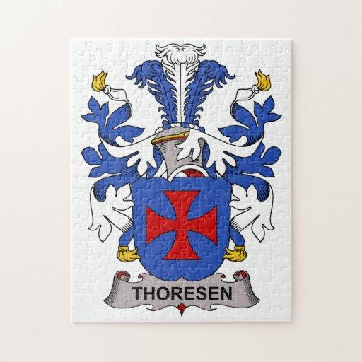 Escudo de la familia de Thoresen Rompecabeza