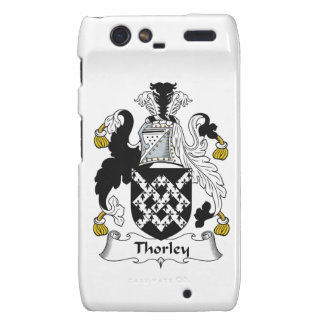 Escudo de la familia de Thorley Droid RAZR Fundas