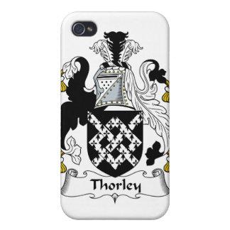 Escudo de la familia de Thorley iPhone 4/4S Carcasa