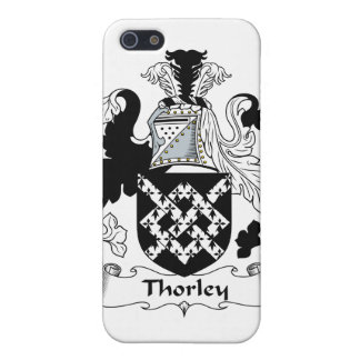Escudo de la familia de Thorley iPhone 5 Funda