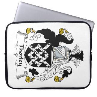 Escudo de la familia de Thorley Mangas Portátiles