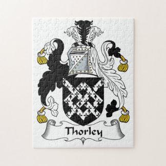 Escudo de la familia de Thorley Rompecabeza Con Fotos