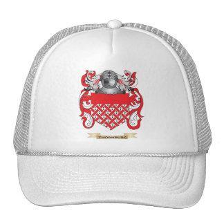 Escudo de la familia de Thornburg (escudo de armas Gorro
