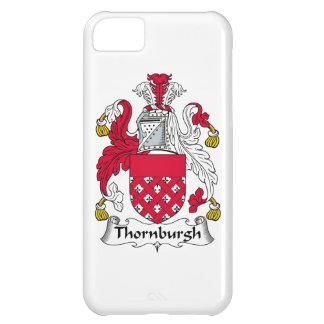 Escudo de la familia de Thornburgh Funda Para iPhone 5C
