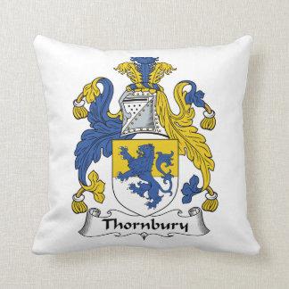 Escudo de la familia de Thornbury Cojin