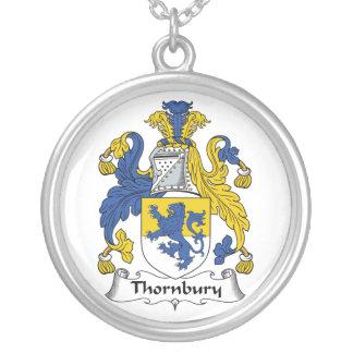 Escudo de la familia de Thornbury Colgantes