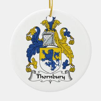 Escudo de la familia de Thornbury Ornamente De Reyes