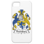 Escudo de la familia de Thornbury iPhone 5 Case-Mate Carcasa