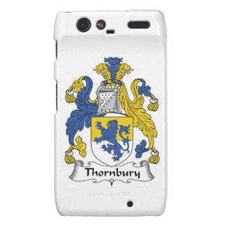 Escudo de la familia de Thornbury Droid RAZR Carcasas