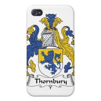 Escudo de la familia de Thornbury iPhone 4 Coberturas