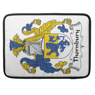 Escudo de la familia de Thornbury Funda Macbook Pro