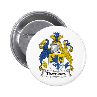Escudo de la familia de Thornbury Pins