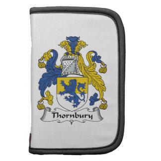 Escudo de la familia de Thornbury Planificadores