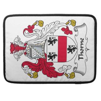 Escudo de la familia de Thorne Fundas Macbook Pro