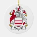 Escudo de la familia de Thornhill Ornamente De Reyes