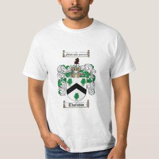 Escudo de la familia de Thornton - escudo de armas Camisas