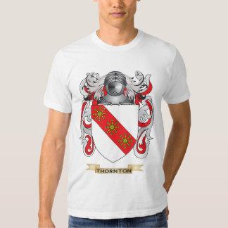 Escudo de la familia de Thornton (escudo de armas) Polera