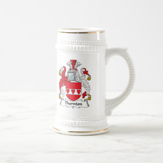 Escudo de la familia de Thornton Jarra De Cerveza