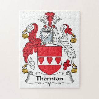 Escudo de la familia de Thornton Puzzle Con Fotos