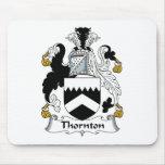 Escudo de la familia de Thornton Alfombrilla De Ratón