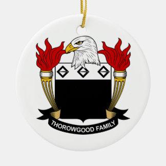 Escudo de la familia de Thorowgood Adorno