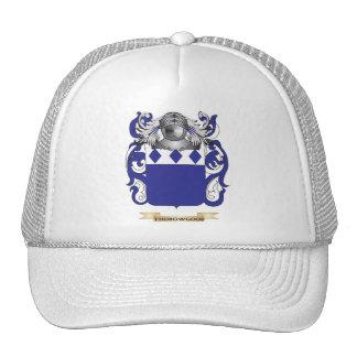 Escudo de la familia de Thorowgood (escudo de arma Gorras