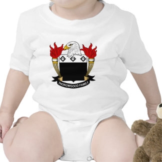 Escudo de la familia de Thorowgood Camisetas