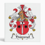 Escudo de la familia de Thummel