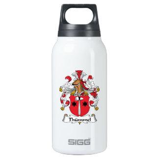 Escudo de la familia de Thummel Botella Isotérmica De Agua