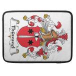 Escudo de la familia de Thummel Fundas Macbook Pro
